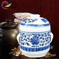 液体罐 茶叶罐陶瓷 密封罐 蜂蜜罐中药膏方陶瓷罐批发定做
