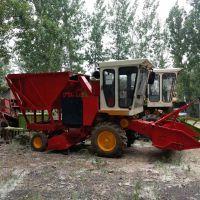 干鲜秸秆玉米青储收割机 大型农用青储机
