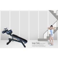 力健宝可调腹肌板仰卧起坐板腹肌健身器收腹器材哑铃椅健身椅 健身器材