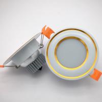 广东丰惠工厂直销 GF-100mm-2.5寸经典款筒灯外壳3W嵌入式贴片筒灯外壳套件