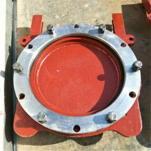 上海法兰式铸铁镶铜圆闸门1.0MPa