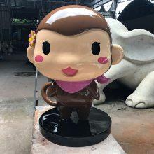 卡通阿狸轻松熊手办模型雕塑摆件 小熊商场美陈主题玻璃钢雕塑
