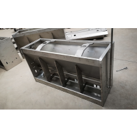 干湿喂料器双面不锈钢料槽多少钱一台?怎么使用?