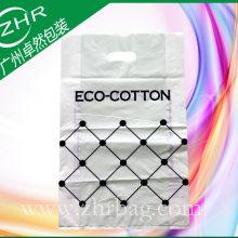 厂家定制PE袋塑料袋彩印薄膜手提四指冲孔包装袋纯棉服装礼品胶袋