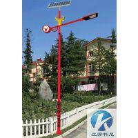 泰州工程定制太阳能路灯6米30w 常州7米50w太阳能LED路灯 科尼星高压钠灯路灯