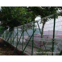 双圈护栏网  双圈隔离栅 工厂卷网铁丝网