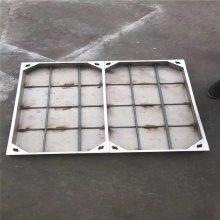 新云 厂家定制201不锈钢井盖500*500*50*4方形阴井盖下沉式水沟盖板