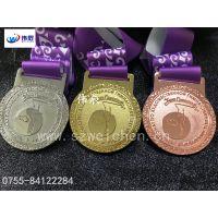 舞蹈比赛奖牌定做,广东哪里可以定制奖牌?