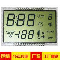 宝莱雅 LCD液晶屏 TN 反射 定制仪器电器段码显示屏 厂家