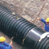 广东福建钢带增强螺旋波纹管天智达热收缩套DN600价格