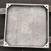 金聚进 厂家定制道路施工广场装饰井盖 304不锈钢隐形装饰井盖GC142
