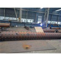 圆形钢结构加工出口公司-三维钢构