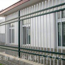 热镀锌 工厂定制彩色锌钢护栏 安全钢材隔离栅 小区工厂围墙围栏 河南新力