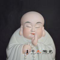 景德镇千火陶瓷 平安佛陶瓷摆件厂家直销