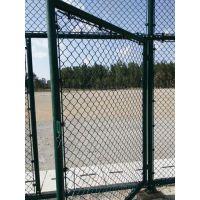 供应优质浸塑球场围网 篮球场pvc勾花运动型围网 48菱形足球场护栏网