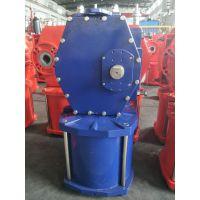 DRG01-D03-38 双作用拨叉气动执行器 大口径阀门气缸 大型气动执行器 大口径球阀气缸