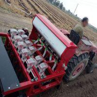 汽油精播机 娃娃菜高粱施肥播种机厂家 苜蓿牧草精播机