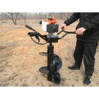 电线立杆必备雷力小型手扶电线杆挖坑机经济又实用