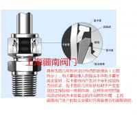 1/4NPT-4、6、8、10、12螺纹直通卡套接头厂家 上海疆南阀门生产1/4NPT直通终端接头