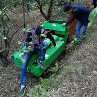 自走履带式樱桃园开沟施肥回填机 深度开沟快速机 果园施肥覆土旋耕机价格