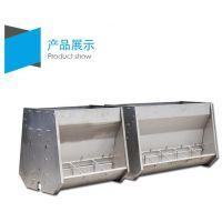 猪用食槽不锈钢双面料槽加工厂家