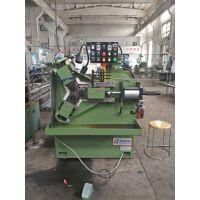 台湾管牙专用三轴式液压滚丝机滚管用轴式液压滚丝机