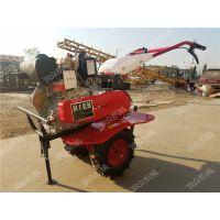手推自走汽油旋耕机 润众 大棚使用的松土旋耕机
