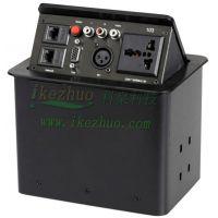 气压式弹起插座桌面插座多功能桌面插座台面插座隐藏式接线线插座