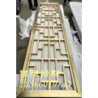 304不锈钢方管焊接屏风活动隔断
