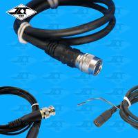 CCD工业相机12芯信号连接线 模具监视器电源视频线 HR10A-10P-12S航空接头