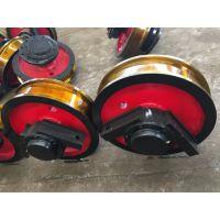 广东车轮组生产厂家 500*150型双边被动车轮组 电动平车、钢包车用 亚重