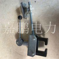 检修专用梯车抓轨器 铁路接触网梯车制动器