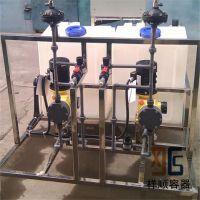 200升方形农机设备药罐/200L加药箱/200公斤PE加药桶