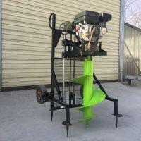 植树种树打窝机厂家 硬土质挖树窝机 便携式挖坑机
