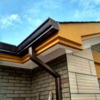 重庆铝天沟,别墅落水管屋面排水系统厂家
