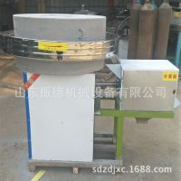 70型石磨面粉加工设备 五谷杂粮石磨面粉机 电动石磨机 振德牌