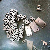 08A-1 滚子链条多少钱一米 sus304不锈钢短节距传动链条乾德厂家