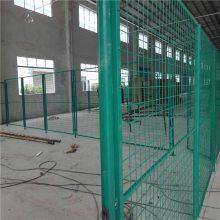 公路护栏图片 铝合金围墙栅栏 隔离栅网片丝径