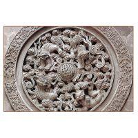 拉萨徽派古建砖雕宣传页青砖砌块景区古建砖雕宣传页