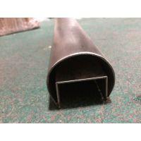 316不锈钢槽管、不锈钢工业圆凹槽管、不锈钢镜面槽管
