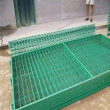 临沂河边防护浸塑护栏网一诺规格尺寸定制——高速隔离、养殖护栏网批发