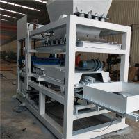 供应4-15水泥砖机 全自动液压空心砖设备 铼申免烧砖生产线