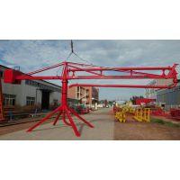 安徽厂家直销混凝土输送12米小型手动布料机建筑混凝土布料机