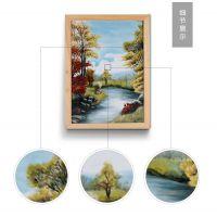 送礼佳品陶瓷画 景德镇高档手绘瓷板画