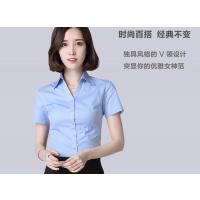 厂家直销 白色衬衫短袖职业 2018新款夏装工装百搭显瘦