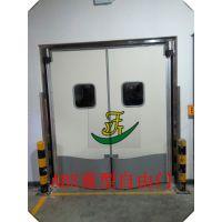 定制上海防撞自由门防撞冷库门车间隔音自动门不锈钢平移门安装门