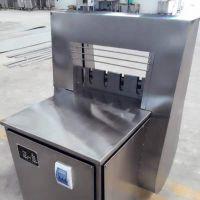 厂家直销切肉片机 半自动冻盘切段切片设备 河南冻肉切片机
