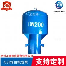 友瑞牌02S403标准罩型通敢管 DN100罩型通气管安装