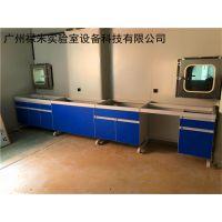 广州钢木边台实验台厂,实验台批发 广州禄米制造