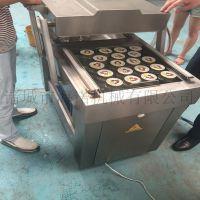 400双室蘑菇辣酱真空旋盖机 马口铁盖旋盖设备